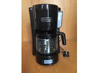 Delonghi ICM15240 Front Loading Filter Coffee Maker - Black