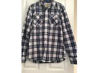 Superdry checkered shirt