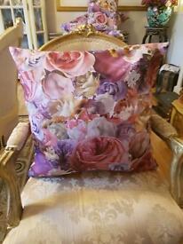 New Handmade Shabby Floral Cushions
