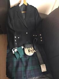 Kilt Outfit (Black Watch Tartan)