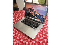 "Apple MacBook Pro 15"" 2.4ghz i7 quad core, 8gb ram, 500gb, radeon 6770 GPU 1gb BOXED"