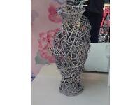 Decorative Wicker Vases