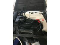 Electric Drill in carry case,