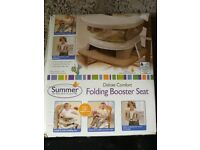 Deluxe Comfort Folding Booster Seat