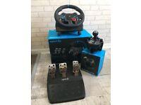 G29 Steering wheel Logitech PS4/PS3 £140