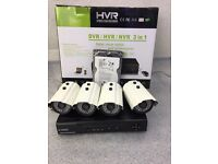 Full 960H DVR HDMI Night Vision 4pc 800TVL CCTV Security Camera System +1Tb HDD