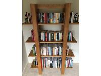 Heavy duty wood bookcase