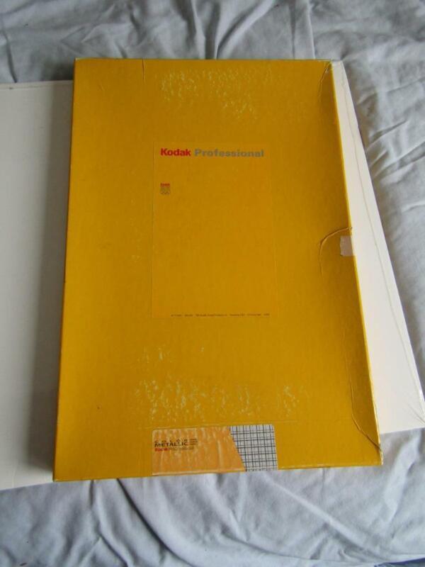"""Kodak Professional Color Metallic  Enlarging Paper, 12 x 17""""  50 Sheets Open Box"""