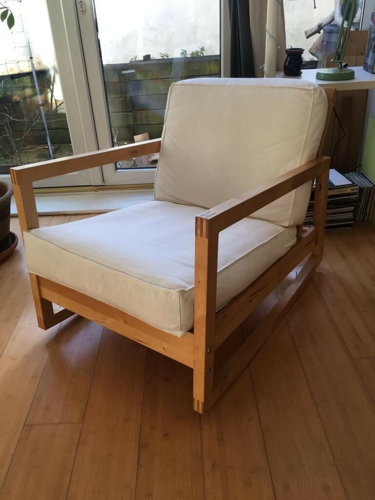 Terrific Ikea Lillberg Rocker Chair In Forest Gate London Gumtree Theyellowbook Wood Chair Design Ideas Theyellowbookinfo