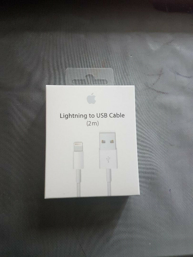 2M Apple iPhone 5 6 6s 7 Plus USB Sync Charge Lightnning Cable