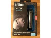 NEW sealed in box: Braun Cruzer Beard Shaver