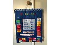 Great little trading company blue learning calendar