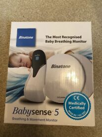 Babysense 5 breathing and movement monitor