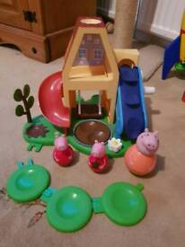 Peppa pig weeble park
