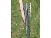 Free broken and odd bits of rods