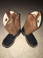 Boys infant size 9 old west cowboy boots