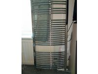 Chrome towel radiator excellent condition £90 ono