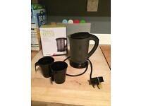 VonShef travel kettle - boxed