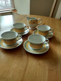 Lovely 4 partial cups and saucers