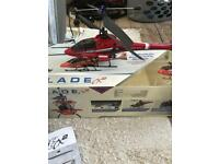 Blade cx2 remote control helicopter brand new