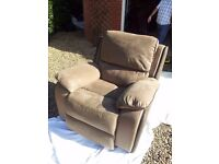 ARMCHAIR - Harveys HOLDEN electric recliner chair, vgc, £800 new, 4yrs old, selling for £245