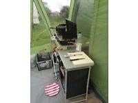 Vango Taiga Airbeam 600xl tent for sale plus extra camping equipment