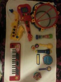 Large childrens instrument set