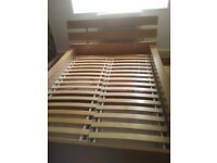 Ikea double bed with under bed storage in excellent condition. Can deliver free