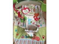 Fisher-Price Woodsy Friends Comfy Time Bouncer - great condition