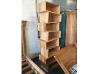 Brand new solidwood bookcase/shelving unit