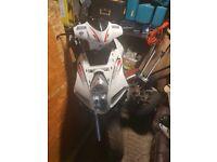 Sinnis eagle 125+ajs firefox 50 cc spares/repair