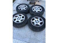 Peugeot 407 set of 4 alloy wheels