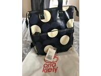 Orla Kiely large back pack and purse