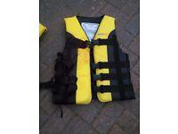 Seaflo Teenage/Small Adult Life Jacket in Yellow