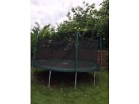Trampoline 14 feet TP Toys with fence