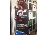 Gran Turismo gt Sport Life Size promo advertising