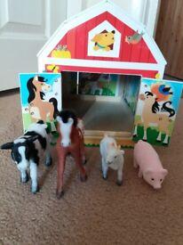 Melissa &Doug Latches Barn