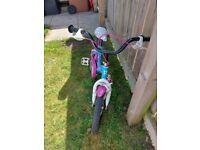 16 inch girls bike.