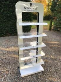 Schwarzkopf display stand