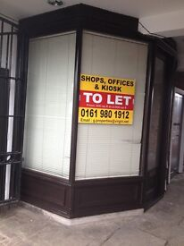 Kiosk to let Macclesfiled. Small shop, phone shop, tobacco shop etc