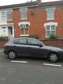 Nissan almera great car 1.5 mileage 120000 only for £600