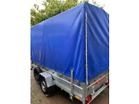 Trailer with cover