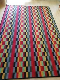Carpet multicoloured with FREE anti-slide mat