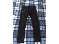 Men's Zara Slim Fit Jeans Black W32 L32