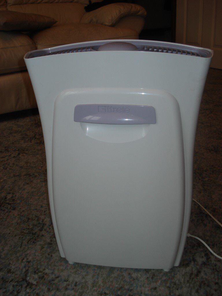 Filtrete 3M FAP03 Ultra Clean Large Air Purifier Dust Mold Allergen
