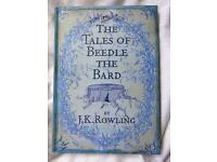 Tales of Beedle the Bard hardback book