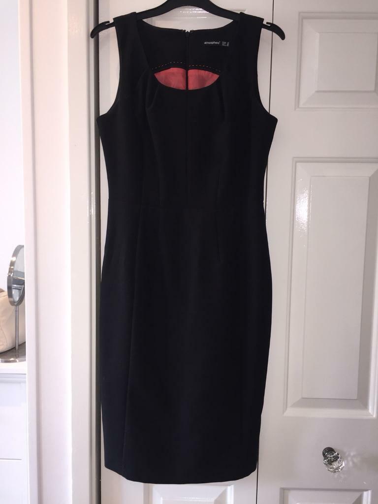 5d983f2f30d Black smart dress size 10