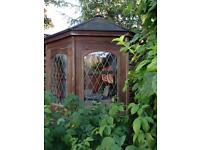 Octagonal summerhouse 7ftx7ftx7ft