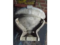 RARE FOUR PIECE ALUMINIUM URN POT BIRD BATH MOULD BUSINESS OPPORTUNITY £125