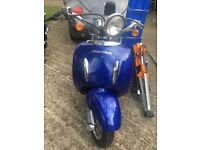 50cc scooter Brand New Blue